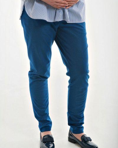 Синие зауженные брюки Week By Week