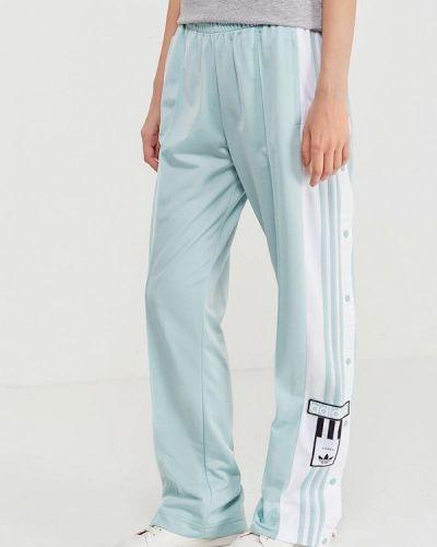 Бирюзовые спортивные брюки Adidas Originals