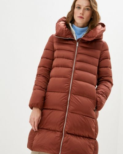 Коричневая зимняя куртка Add