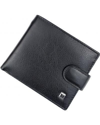 Кожаный кошелек - черный Horton