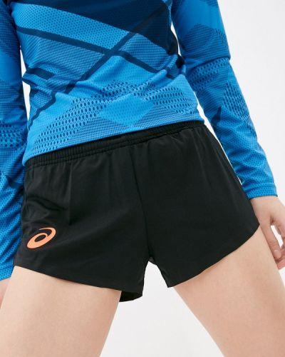 Черные спортивные шорты Asics