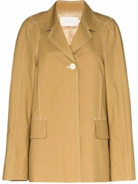 Желтая куртка Low Classic