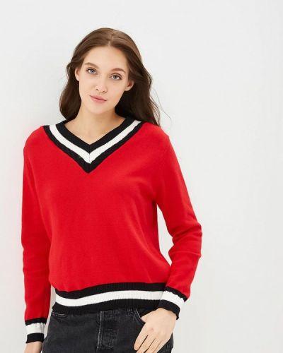 Пуловер красный Zeza
