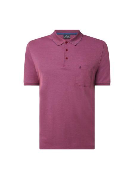 Różowy t-shirt bawełniany Ragman