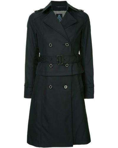 Пальто с поясом - синее Guild Prime