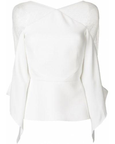 Белая блузка Roland Mouret
