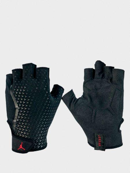 Спортивные перчатки - черные Nike