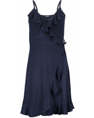 Платье однотонное синий Blue Seven