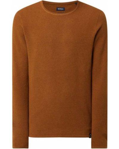 Brązowy sweter bawełniany Mcneal
