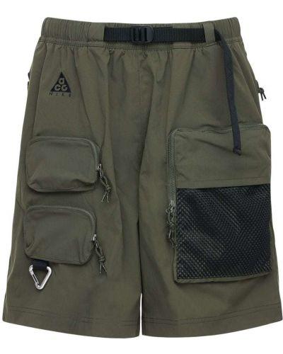 Szorty cargo khaki z paskiem Nike Acg