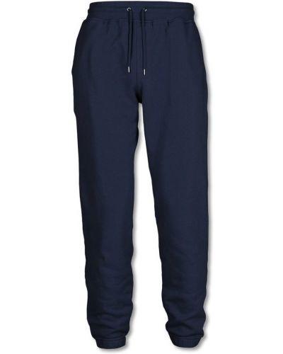 Niebieskie klasyczne spodnie Colorful Standard