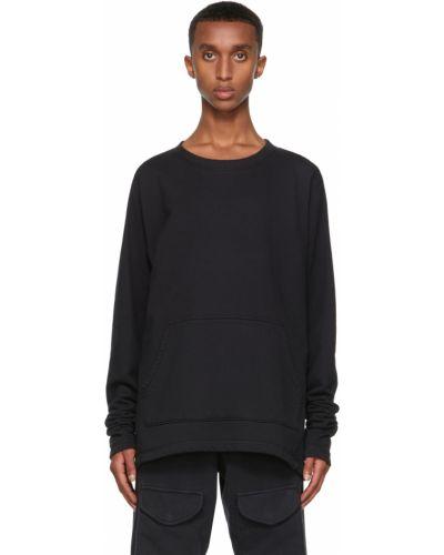 Czarna bluza bawełniana Greg Lauren
