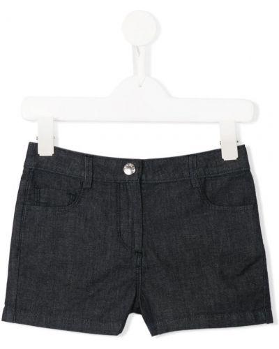 Шорты джинсовые хлопковые Moncler Kids