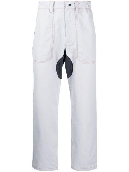 Прямые брюки с поясом новогодние Affix