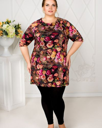 Блузка с рукавом реглан из вискозы Darissa Fashion