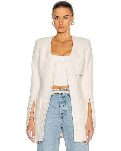 Klasyczna biała klasyczna koszula bawełniana Alexander Wang