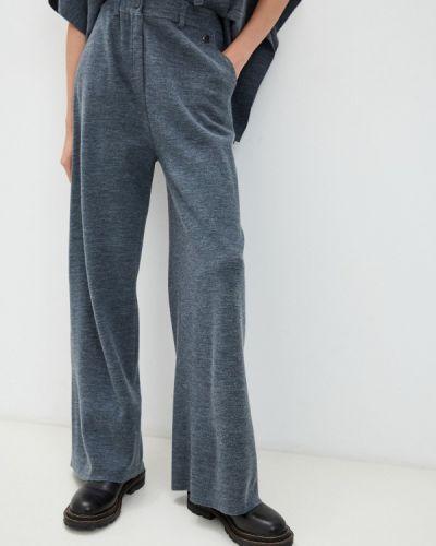 Серые зимние брюки Twinset Milano
