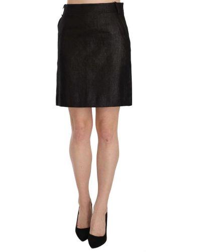 Czarna spódnica mini z wysokim stanem Gf Ferre