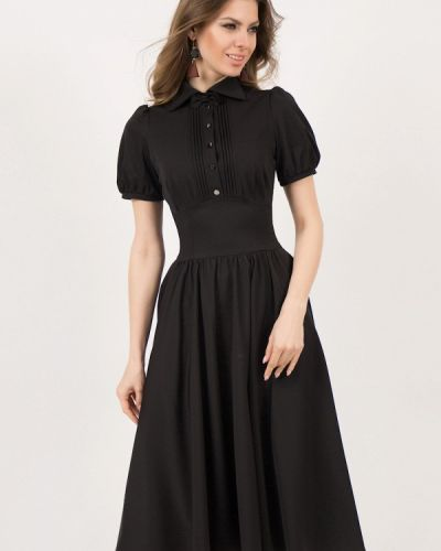 Повседневное платье оливковый черное Olivegrey