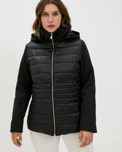 Черная утепленная куртка W.sharvel