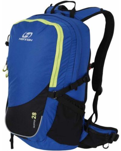 Niebieski sport plecak materiałowy z paskiem Hannah