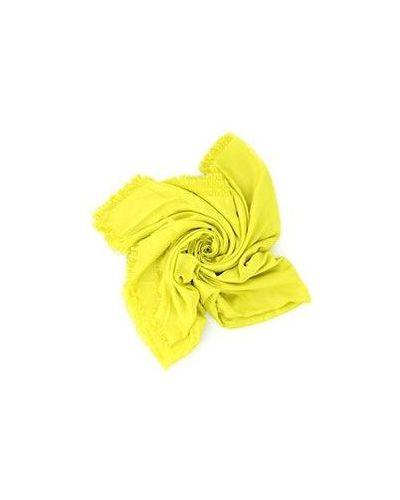 Желтый палантин Roberto Cavalli