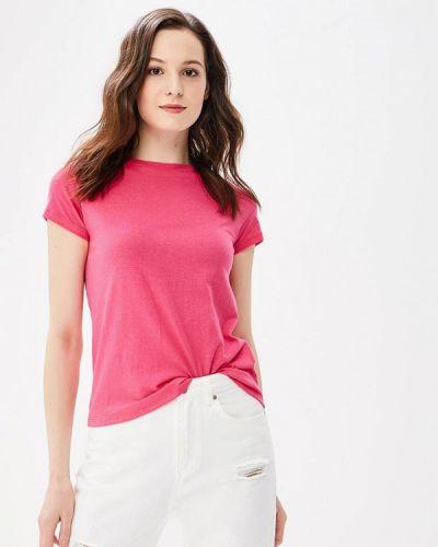 Розовая футболка Jennyfer