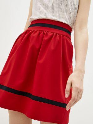 Красная юбка свободного кроя Shovsvaro