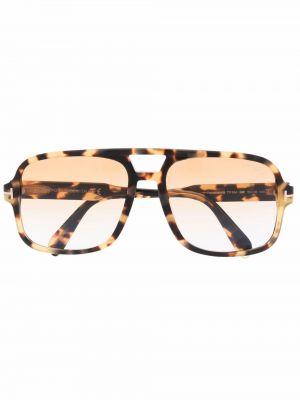 Pomarańczowe okulary Tom Ford Eyewear