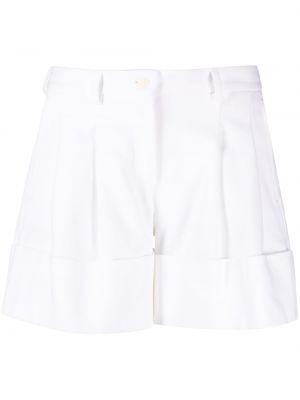 Хлопковые белые шорты с карманами Jejia