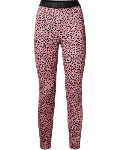 Różowe spodnie dresowe Marc Cain
