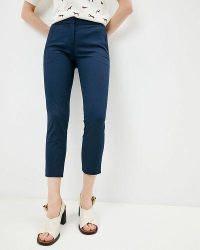 Повседневные синие брюки Trussardi