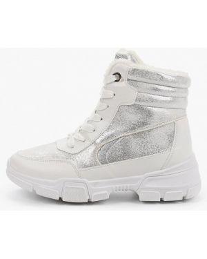 Высокие кроссовки белый из искусственной кожи Patrol
