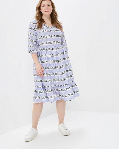 Повседневное платье фиолетовый Tutto Bene Plus