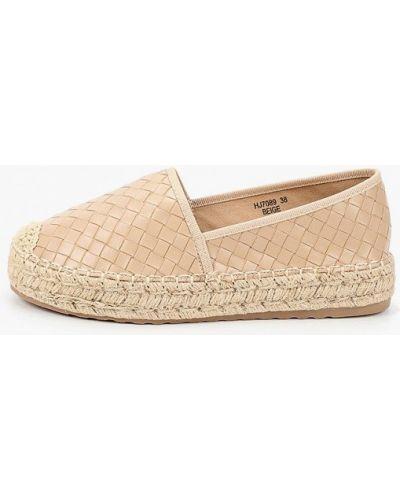 Бежевые эспадрильи Sweet Shoes
