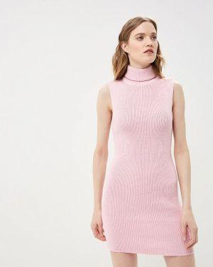 Платье розовое вязаное Mirasezar