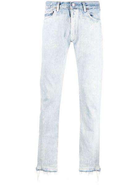 Klasyczne niebieskie jeansy z paskiem Gallery Dept.