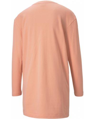 Платье макси длинное - розовое Puma