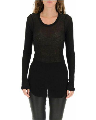 Czarna t-shirt Ann Demeulemeester