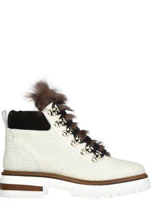 Кожаные ботинки осенние Stokton