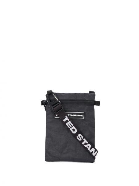 С ремешком белая сумка на плечо прямоугольная United Standard