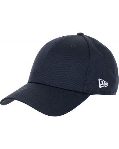 Синяя бейсболка с логотипом New Era