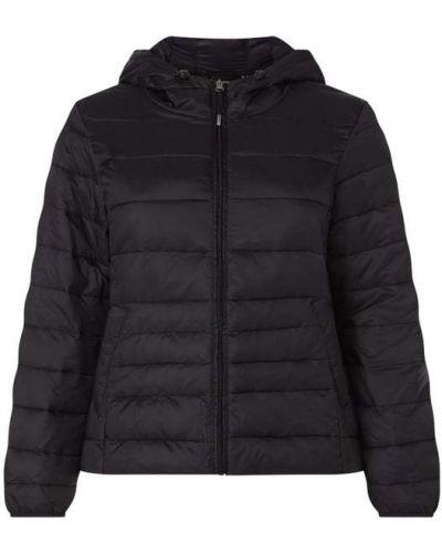 Czarna kurtka z kapturem Vero Moda Curve