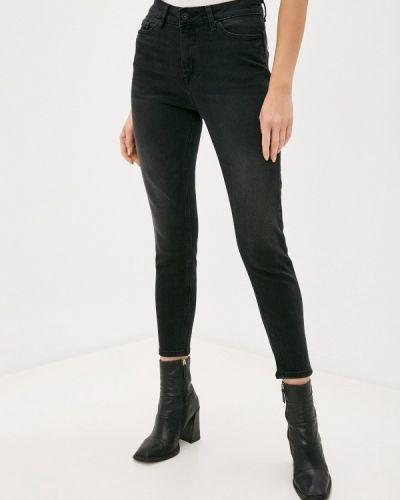 Черные джинсы-скинни узкого кроя Ichi