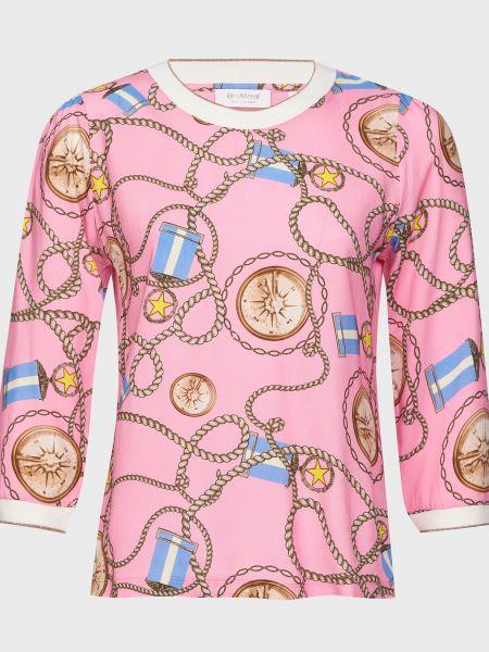Шерстяная блузка - розовая Rich & Royal