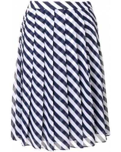 Плиссированная юбка макси с завышенной талией Michael Michael Kors