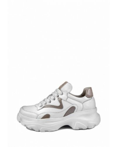 Кожаные кроссовки - белые My Day