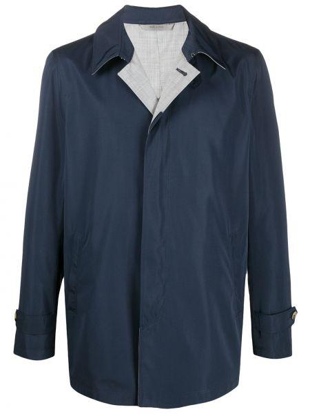 Płaszcz przeciwdeszczowy z kieszeniami długo Canali