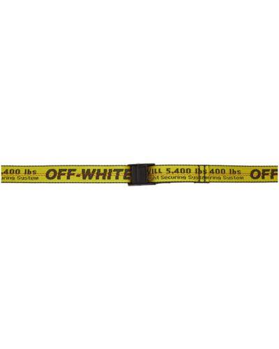 Нейлоновый черный ремень с поясом Off-white
