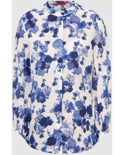Шелковая блузка - белая Max & Co
